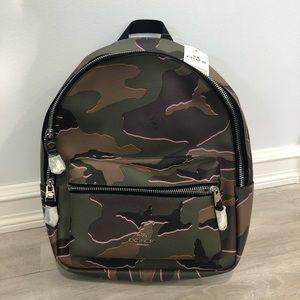 "HP⭐️NWT Coach Medium ""Charlie"" Backpack"